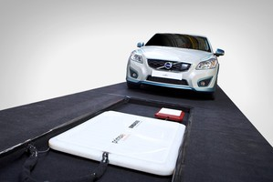 Volvo Car Group completes successful study of cordless charging for electric cars.