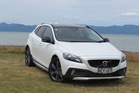 The Volvo V40 Cross Country T5 petrol has just been launched in New Zealand. It's 40mm highter than the V40 hatch.Photo / Liz Dobson