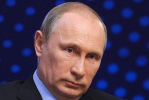 "Vladimir Putin - ""The most powerful man in the world"". Photo / AP"