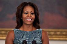 First lady Michelle Obama is a fashion trendsetter.Photo / AP