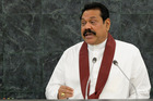 President Mahinda Rajapaksa convincingly won the presidential elections in 2010. Photo / AP