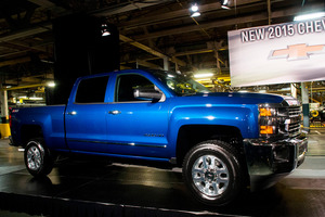 The Silverado is GM's top selling vehicle. Picture / AP