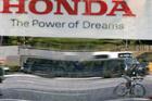 Honda Motor said its quarterly profit rose 46 percent in the latest quarter. Photo / AP