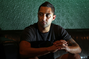 Benji Marshall, a former Kiwis international, has come to the Blues from NRL side Wests Tigers in the hope of making the All Blacks. Photo / Andrew Warner