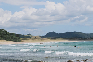 Hot Water Beach near Hahei on the Coromandel Pensinsula. Photo / Alex Robertson