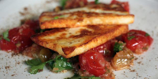 Deep fried paneer. Photo / Doug Sherring