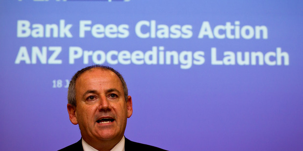 Fair Play on Fees lawyer Andrew Hooker  says 17,000 people have signed up to the ANZ lawsuit. Photo / Dean Purcell