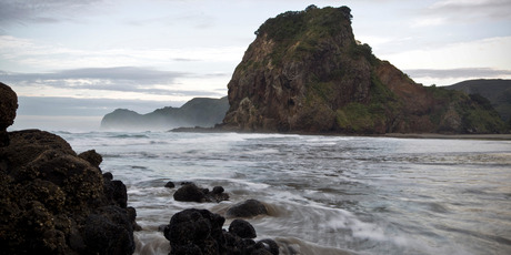 Lion Rock, Piha. Photo / Michael Craig