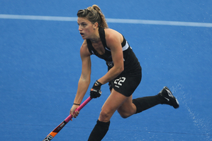 Gemma Flynn opened the scoring for New Zealand. File photo / Joel Ford