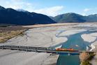 The TranzAlpine Trans Scenic Express. Photo / Supplied