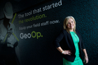 Leanne Graham, chief executive of software company GeoOp. Photo / Richard Robinson