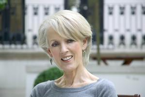 Author Joanna Trollope.