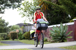 Feel your mail has been arriving late lately? NZ Post denies a claim it's delaying delivery of standard post to make fastpost faster. Photo / Chris Gorman