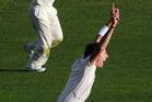 New Zealand's Iain O'Brien. Photo / NZPA