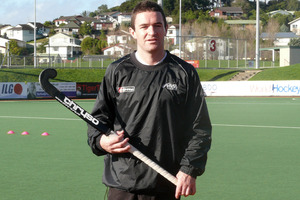 Black Sticks midfielder Phil Burrows. Photo / NZPA