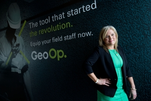 GeoOp chief executive Leanne Graham.