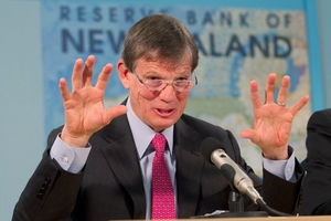 Reserve Bank Governor Graeme Wheeler left the OCR unchanged yesterday at 2.5 per cent. Photo / Mark Mitchell