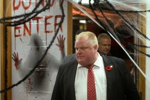 Toronto Mayor Rob Ford.