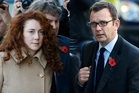 Rebekah Brooks and Andy Coulson. Photo / AP