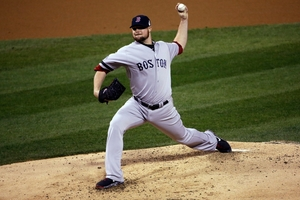 Jon Lester's only pitching concern came in the fourth innings when Matt Holliday homered. Photo / AP