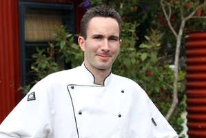 PREPARED: Clearview chef Peter Hallgarth is set to reveal a mystery dish devised from local ingredients as part of the big annual wine and food festival. PHOTO/DUNCAN BROWN HBT113813-02