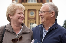 Jan and Dave Turner used Lonely Planet to plan their trip. Photo / Greg Bowker