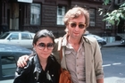Yoko Ono and John Lennon. Photo / AP