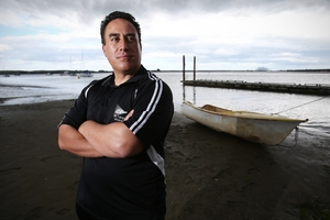 POSITIVE DIFFERENCE: Local youth worker Rangi Ahipene couldn't be any more passionate about the work he is currently doing. PHOTO/FILE