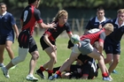 SEVENS HEAVEN: Action from last year's BOP Secondary Schools Sevens between John Paul College and Tauranga Boys' College.PHOTO/FILE