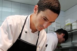 SPECIAL MENU: Craggy Range head chef Leyton Ashley will be preparing an array of culinary delights. PHOTO/FILE