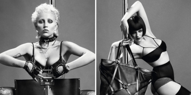 Brooke Candy pushes boundaries in the latest Diesel campaign.Photo / Diesel