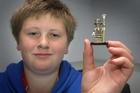 Thorsteinn Bjornsson got lucky with Lego. PHOTO/BEVAN CONLEY
