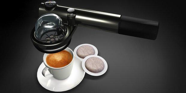 The handspresso.