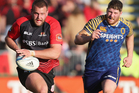 Joe Moody in action for Canterbury. Photo / Getty Images