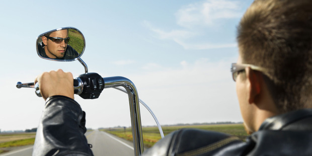 Is it misleading to imply that looking in the rearview mirror will help work out what will happen in the future? Photo / Thinkstock