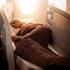 Business Premier lie flat bed in Air New Zealand's Boeing 787-9 Dreamliner.