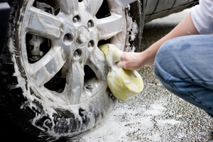 Keep your wheels clean to prolong their appearance. Photo / Getty Images