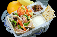 A packed lunch from home is full of good stuff.Photo / Thinkstock