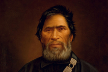 Wiremu Tamihana, painted by Gottfried Lindauer, was a 'peacemaker who was labelled a rebel'. (Auckland Art Gallery)