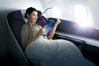 The Dreamliner has cocoon-like seats in first class.