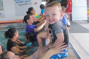 LIFE SAVERS: The Water Babies programme has been launched in the Bay of Plenty.PHOTO/SUPPLIED