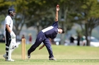 James Boyd, in action here for Tauranga Boys' College, bowled beautifully for Bay of Plenty Development against a strong Waikato Valley selection. Photo / File
