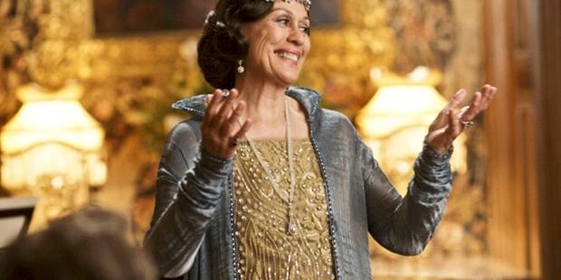 Dame Kiri Te Kanawa in Downton Abbey.