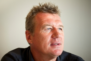 John Kirwan is highly attuned to his players' problems. Photo / Greg Bowker