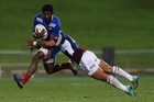 Fijian Noa Nakaitaci played on the wing for France when they toured New Zealand in June. Photo / Getty Images