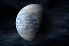 Kepler-69c is a planet in the habitable zone of a star similar to our Sun 2700 light years away in the constellation Cygnus. Photo / Artist's impression, Nasa