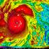 Typhoon Haiyan over the Philippines, at 22:30 UTC (5:30 p.m. EST). Photo / AP