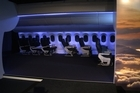 Air New Zealand has unveiled a cabin mock-up of its Boeing 787 Dreamliner and has revealed it will debut on the Auckland-Perth route.