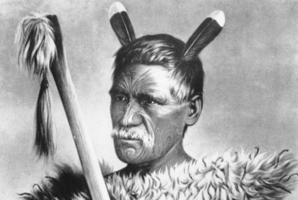 Rewi Maniapoto, depicted by Gottfried Lindauer. (NZ Herald Archive)