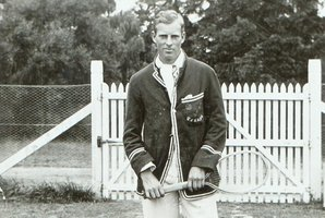 Wimbledon winner Wilding was our greatest tennis player. (NZ Herald Archive)